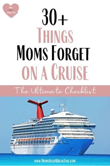 Cruise Tips & Cruise Checklist