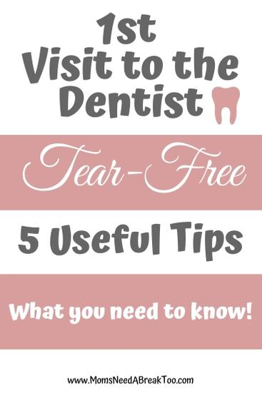 Tear-Free 1st Visit to the Dentist . . What you need to know!