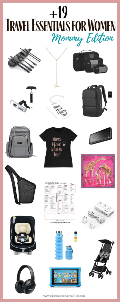 Travel Essentials For Women_Infographic